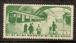Russia Soviet Union RUSSIE URSS 1935 MvLH Metro - Ongebruikt