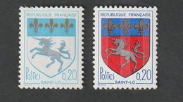 Variétés - 1966  -  N°1510   -   Couleur Rouge Absente, Bleu Très Pâle   -       Neuf Sans Charnière - Curiosità: 1970-79  Nuovi
