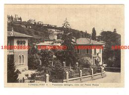 CONEGLIANO -  PANORAMA DETTAGLIO VISTO DAL PARCO ROCCA  F/GRANDE VIAGGIATA 1940ANIMATA - Treviso