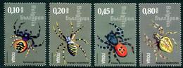 BULGARIA 2005 Spiders MNH / **.  Michel 4713-16 - Unused Stamps