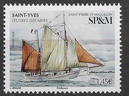 2020 Saint Pierre Et Miquelon N°   Nf** MNH . Bateau. Saint-Yves - Unused Stamps
