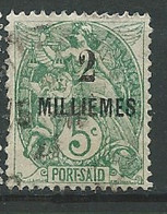 Port Said   - Yvert N° 49 A  Oblitéré         -   Po 63628 - Used Stamps