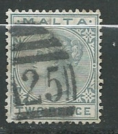 Malte    - Yvert N° 7  Oblitéré         -   Po 63631 - Malta (...-1964)