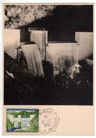 Nouvelle-Calédonie : Carte Maximum : Barrage De La Dumbea - Covers & Documents