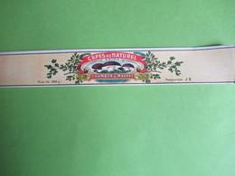 Etiquette Conserve/Cèpes Au Naturel /CHAMBON & MARREL/SOUILLAC( Lot ) Production JII/Ronteix Périgueux Début XX  ETIQ186 - Fruits & Vegetables