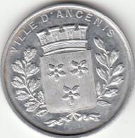 44 ANCENIS Médaille En Alu, Fête Du 27/10/1907 - Altri
