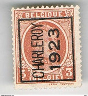 CHARLEROY 1923 - Rollo De Sellos 1920-29