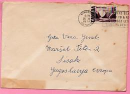 Letter - Postmark Windsor / Christmas, 1970., Canada To Yugoslavia - Otros