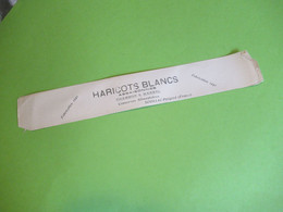 Etiquette Conserve/Haricots Blancs Assaisonnés /Fabrication 1940/ CHAMBON & MARREL/SOUILLAC Périgord / 1940  ETIQ190 - Fruits & Vegetables