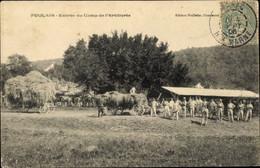 CPA Foulain Haute Marne, Entree Du Camp De L'Artillerie - Other Municipalities