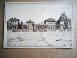PHOTO GRAND CDV 19 EME LE CHATEAU DE VERSAILLES - Antiche (ante 1900)