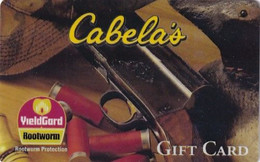 """USA - Cabela""""s, Gift Card, MGI Magnetic Printing Sample(reverse 6) - Other"""