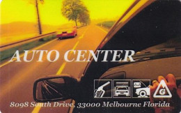 USA - Auto Center, Member Card, MGI Magnetic Printing Sample(reverse 6) - Other