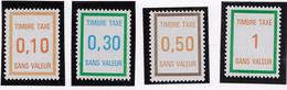 Fictifs - Taxe 30 à 34 Sauf T 31_C 4 - Phantomausgaben