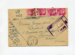 !!! GUERRE D'INDOCHINE, LETTRE DE 1948 CACHET POSTE AUX ARMEES 517 ET BPM 517 - Guerre D'Indochine / Viêt-Nam