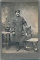 Photo Französischer Soldat In Uniform, Portrait, Fotoatelier Remy Gorget Dijon - Non Classés