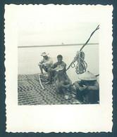 Viet Nam Vietnam Indochine 1953 Viet Tri Bac Sur La Riviere Claire Photo 7 X 8 Cm - War, Military