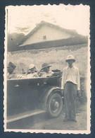 Viet Nam Indochine Tonkin LAO KAY Laotchay 1933 Photo Originale 6 X 8.5 Cm - War, Military