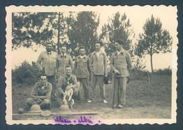 Viet Nam Indochine Tonkin Militaires 1933 Photo Originale 6 X 8.5 Cm - War, Military