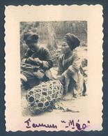Viet Nam Indochine Tonkin LAO KAY Laotchay Femme Méo  1933 Photo Originale 5.5 X 7 Cm - Places