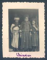 Viet Nam Indochine Tonkin LAO KAY Laotchay 1933 Chinoise Photo Originale 5.5 X 7 Cm - Places