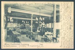VD Vaud LAUSANNE 1899 Hotel Continental Café - VD Vaud