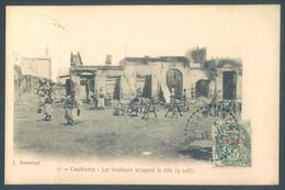 Maroc CASABLANCA Les Tirailleurs Occupent La Ville 9 Aout - Casablanca