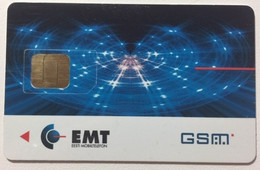 ESTONIA GSM Card  : EST03 15 GSM EMT Laserlights    1998 MINT - Estonia