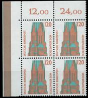 BRD DS SEHENSW Nr 1375 Postfrisch VIERERBLOCK ECKE-OLI X7CFD36 - Ungebraucht