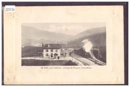 DISTRICT D'ORBE - VALLORBE - GARE DU DAY - TRAIN - BAHN - ( TRACES DE MORSURE AUX 4 ANGLES ) - VD Vaud