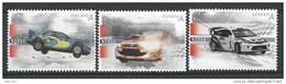 Norvège,  2007  N°1542/1544  Neufs** Sport Automobile Voitures De Course - Neufs