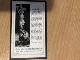 Benoit Schul Membre Association Saint Sacrément *1903 Lamouline +1923 Gomery Virton Libramont-chevigny - Obituary Notices