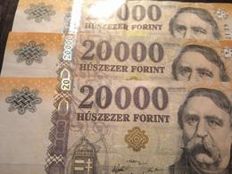 3  BILLETES HUNGRIA MAGYAR - Hongarije