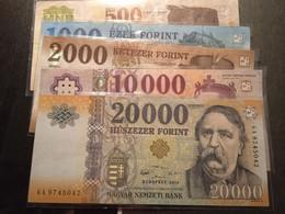 5 BILLETES HUNGRIA MAGYAR  33.500 FL - Hongarije