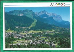 Arâches-La-Frasse (74) Les Carroz Vue Générale Panoramique 2scans - Other Municipalities