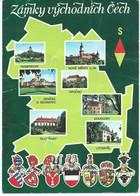 Coat Of Arms Of Czechoslovakia Towns,stamp - 10th Biennial Exhibition Of Book Illustrations For Children, Bratislava - Brieven En Documenten