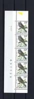 N°2351 S2 Buzin Drukdatumstrook 9.X.91 Onpaar MNH ** POSTFRIS ZONDER SCHARNIER SUPERBE - 1985-.. Pájaros (Buzin)