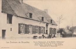 Waterloo , ENVIRONS DE BRUXELLES : Ferme-restaurant  A La Belle Alliance . Grande Espinette. Tram De La Place Rouppe - Waterloo
