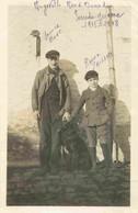 France  Essonne ANGERVILLE Circa WW1  Personnages Identifiés   Photographie 9 X 14 Cm - Lieux