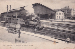 "EPINAL "" Interieur De La Gare , Belle Animation ""     N°7267 - Epinal"