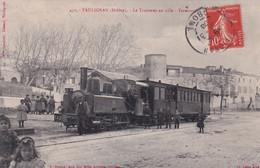 "TAULIGNAN  "" TOP CARTE  Le Tramway En Ville ""     N°7286 - Ohne Zuordnung"