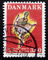 Denmark 1986  MiNr.885 Ballet Dancer Ballet Dancer In The Role Of Cupid (lot E 432) - Usado