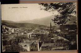 CPA BOUCHES DU RHONE GEMENOS N°11 VUE GENERALE 1915 CACHET CROIX ROUGE FRANCAISE - Otros Municipios