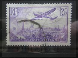 VEND BEAU TIMBRE DE POSTE AERIENNE DE FRANCE N° 10 !!! - 1927-1959 Afgestempeld
