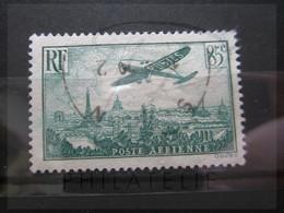 VEND BEAU TIMBRE DE POSTE AERIENNE DE FRANCE N° 8 !!! (b) - 1927-1959 Afgestempeld