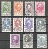 BELGIE OBP 880/891 Gestempeld  UPU Congres Brussel 1952 - Used Stamps