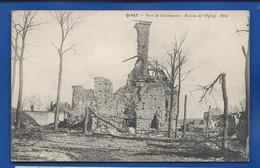 GIVET   Fort De Charlemont   Ruines De L'Eglise 1914 - Givet