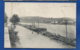 GIVET   Le Port   Animées   écrite En 1935 - Givet