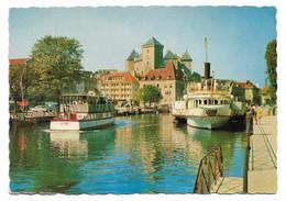 Annecy - Le Port Et Le Chateau 1960 - Annecy