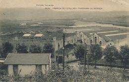 Irun Fabrica De Cerillas Y Panorama De Bidasoa . Fabrique Allumettes. Bois . Matches Factory - Guipúzcoa (San Sebastián)
